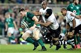 Guinness Series, Aviva Stadium, Dublin 18/11/2017 Ireland vs FijiIreland's Cian Healy and Dominiko Waqaniburotu of FijiMandatory Credit ©INPHO/Ryan Byrne
