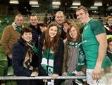 Guinness Series, Aviva Stadium, Dublin 18/11/2017 Ireland vs FijiIrelands Chris Farrell with his family after the gameMandatory Credit ©INPHO/Dan Sheridan