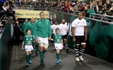 Guinness Series, Aviva Stadium, Dublin 18/11/2017 Ireland vs FijiIreland's Rhys Ruddock leads out his team Mandatory Credit ©INPHO/Ryan Byrne