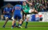 NatWest 6 Nations Championship Round 1, Stade de France, Paris, France 3/2/2018France vs IrelandFrance's Marco Tauleigne and Rob Kearney of IrelandMandatory Credit ©INPHO/James Crombie