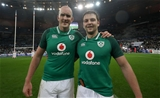NatWest 6 Nations Championship Round 1, Stade de France, Paris, France 3/2/2018France vs IrelandIrelands Devin Toner and Iain HendersonMandatory Credit ©INPHO/Billy Stickland