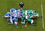 NatWest 6 Nations Championship Round 2, Aviva Stadium, Dublin 10/2/2018Ireland vs ItalyIreland's Conor Murray waits to put into the scrumMandatory Credit ©INPHO/Tommy Dickson