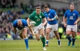 NatWest 6 Nations Championship Round 2, Aviva Stadium, Dublin 10/2/2018Ireland vs ItalyIreland's Jordan LarmourMandatory Credit ©INPHO/Morgan Treacy