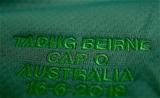 Mitsubishi Estate Series 2nd Test, AAMI Park, Melbourne, Australia 16/6/2018Australia vs IrelandA view of Tadhg Beirne's jersey in the dressing room as he prepares for his first capMandatory Credit ©INPHO/Dan Sheridan