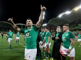 Mitsubishi Estate Series 2nd Test, AAMI Park, Melbourne, Australia 16/6/2018Australia vs IrelandIreland's Rob Kearney applauds the supporters after the gameMandatory Credit ©INPHO/Dan Sheridan