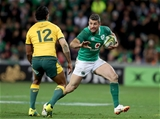 Mitsubishi Estate Series 2nd Test, AAMI Park, Melbourne, Australia 16/6/2018Australia vs IrelandIreland's Rob Kearney with Kurtley Beale of AustraliaMandatory Credit ©INPHO/Dan Sheridan