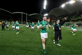 Mitsubishi Estate Series 2nd Test, AAMI Park, Melbourne, Australia 16/6/2018Australia vs IrelandIreland's Robbie Henshaw and Cian Healy celebrate after the gameMandatory Credit ©INPHO/Dan Sheridan