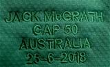 Mitsubishi Estate Series 3rd Test, Allianz Stadium, Sydney, Australia 23/6/2018Australia vs IrelandA general view of Jack McGrath's Ireland jersey on his 50th capMandatory Credit ©INPHO/Dan Sheridan