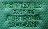 Mitsubishi Estate Series 3rd Test, Allianz Stadium, Sydney, Australia 23/6/2018Australia vs IrelandA general view of Keith Earls' Ireland jersey on his 70th capMandatory Credit ©INPHO/Dan Sheridan