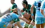 Influential second row Ultan Dillane braces for impact as he tries to get Connacht over the gain-line against the Scottish side Credit: ©INPHO/James Crombie