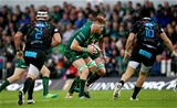 Galway youngster Sean O'Brien makes a carry during Connacht's first win over Zebre in four meetings Credit: ©INPHO/Tommy Dickson