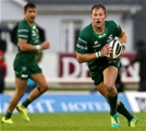 Scrum half Kieran Marmion, who played in Ireland's first Test against Australia in June, made his seasonal bow for Connacht as a replacement Credit: ©INPHO/Tommy Dickson