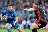 Guinness PRO14, RDS, Dublin 15/9/2018Leinster vs DragonsLeinster's Robbie Henshaw tackled by Lloyd Fairbrother of DragonsMandatory Credit ©INPHO/Dan Sheridan