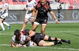 Guinness PRO14, Nelson Mandela Bay Stadium, Port Elizabeth, South Africa 16/9/2018Southern Kings vs UlsterUlster's John Cooney crosses the try line for a try which was later disallowedMandatory Credit ©INPHO/Richard Huggard