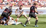 16 September 2018; John Cooney of Ulster during the Guinness PRO14 Round 3 match between Southern Kings and Ulster at Nelson Mandela Bay Stadium in Port Elizabeth, South Africa. Photo by Michael Sheehan/Sportsfile