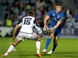 Garry Ringrose, who crossed for Leinster's fifth and final try, is pictured taking on Edinburgh full-back Dougie Fife Credit: ©INPHO/Dan Sheridan