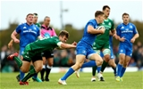 Guinness PRO14, The Sportsground, Galway 29/9/2018Connacht vs LeinsterLeinster's Garry Ringrose and Tom Farrell of ConnachtMandatory Credit ©INPHO/James Crombie