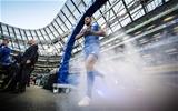 Guinness PRO14, Aviva Stadium, Dublin 6/10/2018Leinster vs MunsterLeinster's Rob Kearney runs out for his 200th capMandatory Credit ©INPHO/Billy Stickland
