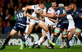 Guinness PRO14, Kingspan Stadium, Belfast 5/10/2018Ulster vs ConnachtConnacht's Jack Carty and Jacob Stockdale of UlsterMandatory Credit ©INPHO/James Crombie