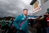 Heineken Champions Cup Round 1, Sandy Park Stadium, Exeter, England 13/10/2018Exeter Chiefs vs MunsterMunster's John Ryan arrivesMandatory Credit ©INPHO/Billy Stickland