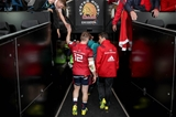 Heineken Champions Cup Round 1, Sandy Park Stadium, Exeter, England 13/10/2018Exeter Chiefs vs MunsterMunster's Rory Scannell and Head Coach Johann van Graan after the gameMandatory Credit ©INPHO/Dan Sheridan