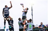 European Rugby Challenge Cup Round 1, Sportsground, Galway 13/10/2018Connacht vs Bordeaux-BeglesConnacht's Quinn Roux claims a line outMandatory Credit ©INPHO/Tommy Dickson