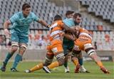 Guinness PRO14, Toyota Stadium, Bloemfontein, South Africa 4/11/2018Toyota Cheetahs vs MunsterMunster's James Cronin tackledMandatory Credit ©INPHO/Frikkie Kapp