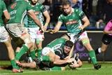 Guinness PRO14, Stadio Monigo, Treviso, Italy 3/11/2018Benetton vs UlsterUlster's Rob Herring scores a tryMandatory Credit ©INPHO/Elena Barbini