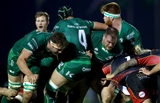 Guinness PRO14, Sportsground, Galway 3/11/2018Connacht vs DragonsConnacht's James Cannon, Ultan Dillane, Conor Carey and Sean OBrienMandatory Credit ©INPHO/James Crombie