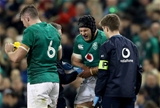 Guinness Series, Aviva Stadium, Dublin 10/11/2018Ireland vs ArgentinaIreland's Sean O'Brien receives medical attention Mandatory Credit ©INPHO/Bryan Keane