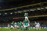 Guinness Series, Aviva Stadium, Dublin 10/11/2018Ireland vs ArgentinaIreland's Devin Toner wins a lineout Mandatory Credit ©INPHO/James Crombie