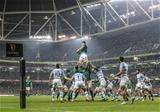 Guinness Series, Aviva Stadium, Dublin 10/11/2018Ireland vs ArgentinaIreland's Iain Henderson wins a line outMandatory Credit ©INPHO/James Crombie