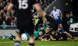 Guinness Series, Aviva Stadium, Dublin 17/11/2018Ireland vs New Zealand All BlacksIreland's Rob Kearney scores a try that was later disallowed after going to the TMOMandatory Credit ©INPHO/Gary Carr