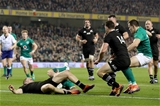 Guinness Series, Aviva Stadium, Dublin 17/11/2018Ireland vs New Zealand All BlacksIreland's Rob Kearney scores a try that was later disallowed after going to the TMOMandatory Credit ©INPHO/Dan Sheridan