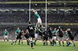 Guinness Series, Aviva Stadium, Dublin 17/11/2018Ireland vs New Zealand All BlacksIreland's Peter O'Mahony in the line-outMandatory Credit ©INPHO/Dan Sheridan