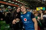 Guinness Series, Aviva Stadium, Dublin 24/11/2018Ireland vs USAIreland's Quinn Roux with his partner after the gameMandatory Credit ©INPHO/Morgan Treacy