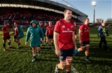Heineken Champions Cup Round 3. Thomond Park, Limerick 9/12/2018Munster vs CastresMunsters Tadhg Beirne after the gameMandatory Credit ©INPHO/Billy Stickland